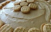 Caramel Nutter Butter Cheesecake Pie