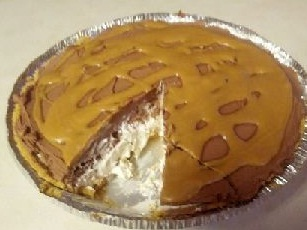Chocolate and Peanut Butter Nutter Butter Pie