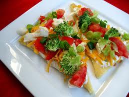 Garlic Dill Veggie Pizza