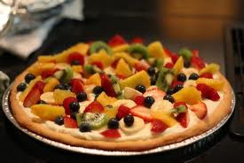 Glazed Fruit Pizza