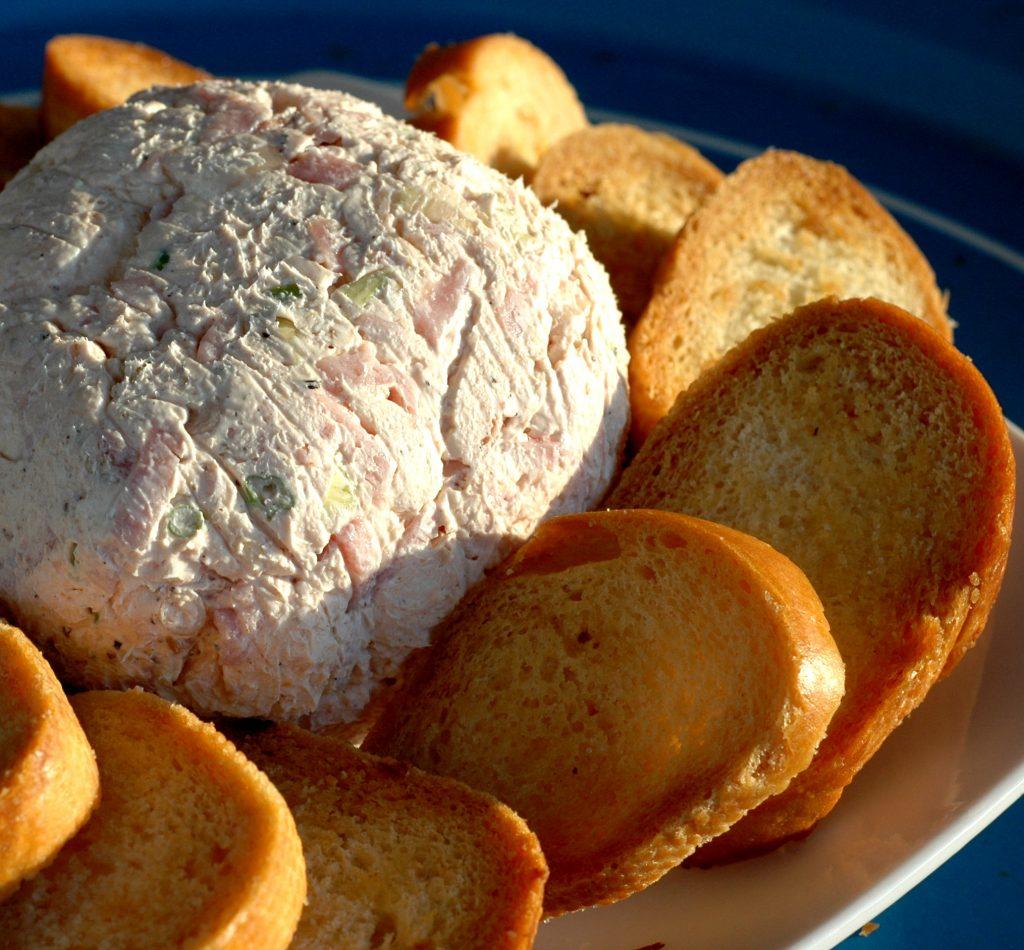 Ham & Garlic Cheeseball