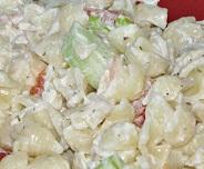 Kerry's Kreamy Kucumber Pasta Salad