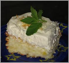 Pineapple Passion Sponge Cake