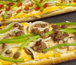 Ed's Pizza Pizzazz Pizza Boats