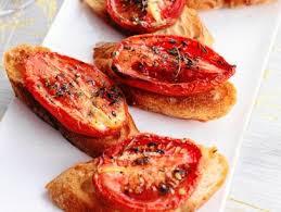 Roasted Tomato Baguettes