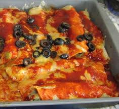 Spicy Texas Enchiladas