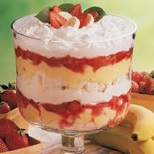Strawberry & Banana Parfaits