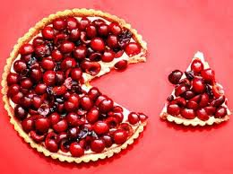 Cherry Cheesecake Fruit Pizza